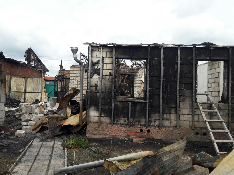 Помощь погорельцами в д. Перекаль Рыбновского района